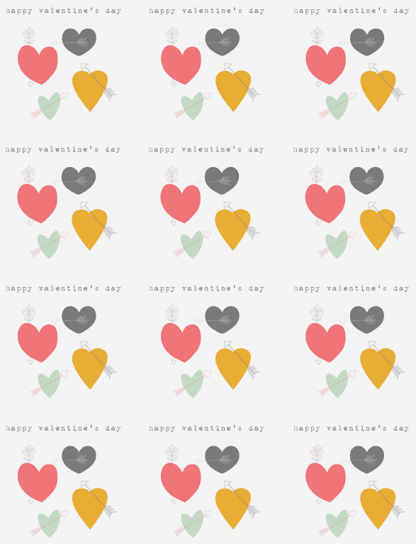 hearts arrows valentine labels by catherine auger worldlabel blog
