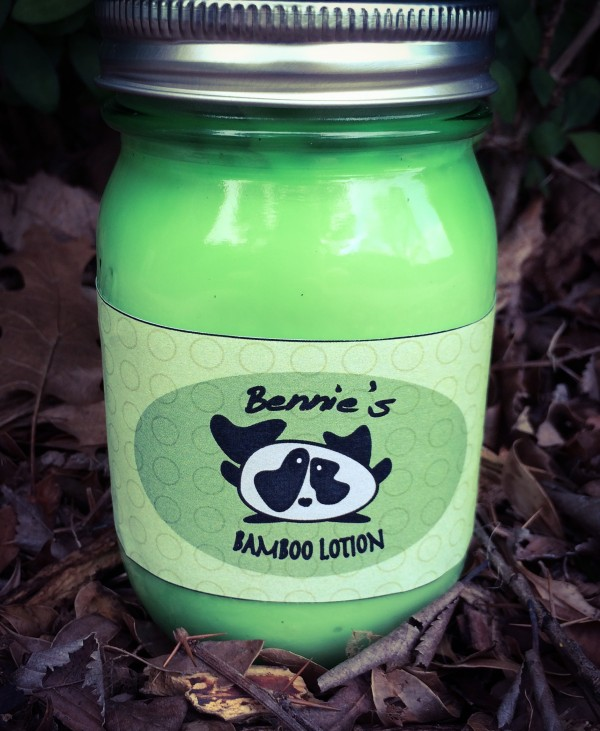Bamboo Lotion Label 1