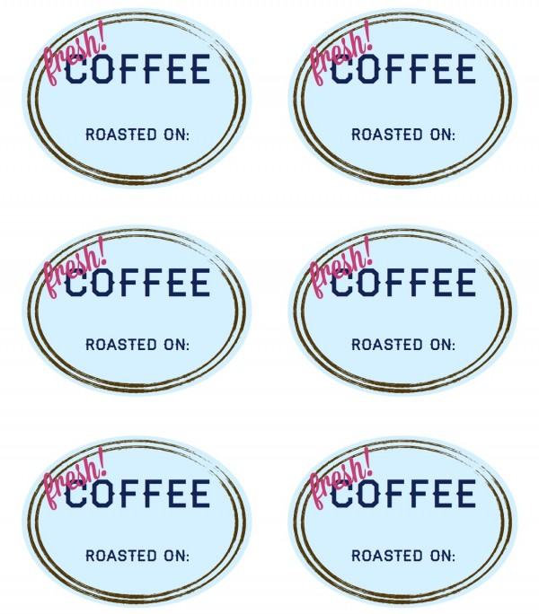 Coffee Labels WL-150