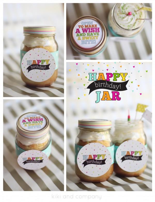 Happy Birthday Jar by kiki and company