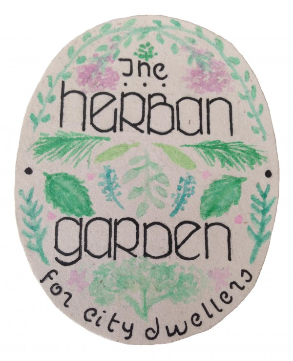 Herban Garden Label