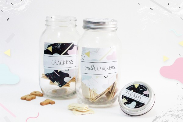mason jar multipurpose labels