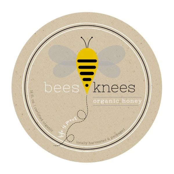 bees-knees-honey-label