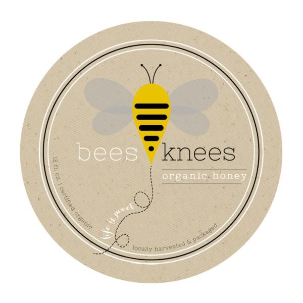 bees-knees-honey-label