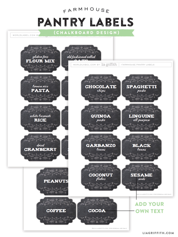 Chalkboard_Printable_Pantry_Labels