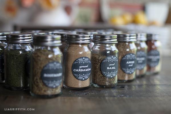 Printable Farmhouse Herb Amp Spice Labels Worldlabel Blog