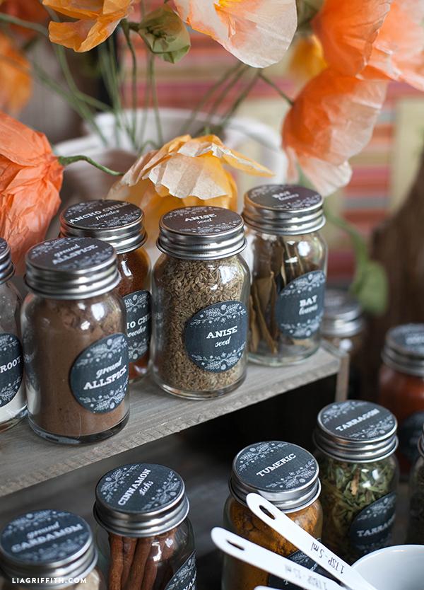 Printable Farmhouse Herb Amp Spice Labels Free Printable
