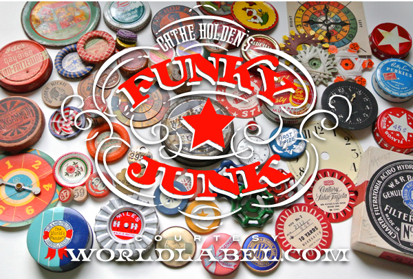 Funky Junk Labels by Cathe Holden