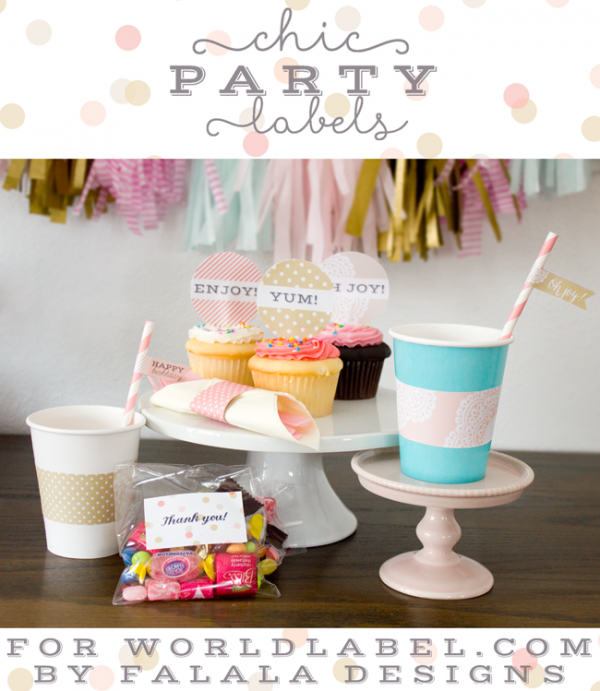Party label printables