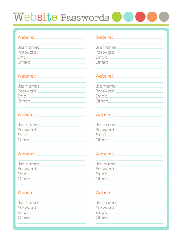 graphic relating to Organization Printables identify Website-it: Bloggers Organizational Printables Cost-free printable