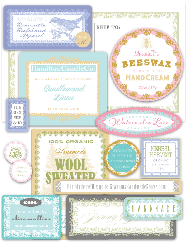 Free printable labels & templates, label design @WorldLabel blog ...