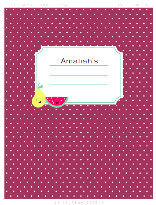 back to school labels by falala designs