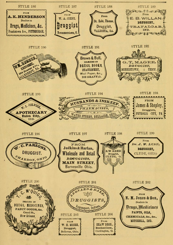 druggist labels-10