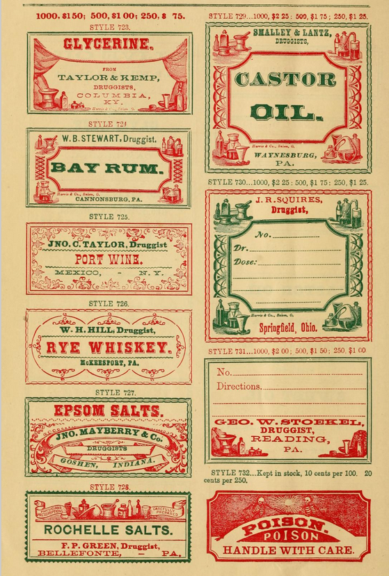 druggist labels-11