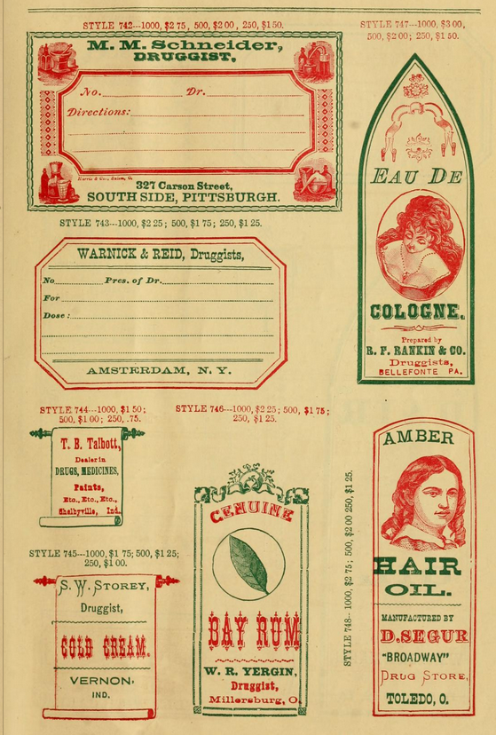druggist labels-12