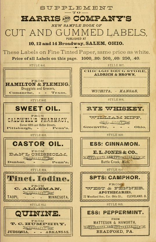 druggist labels-2