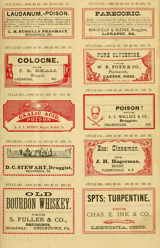 druggist labels-3