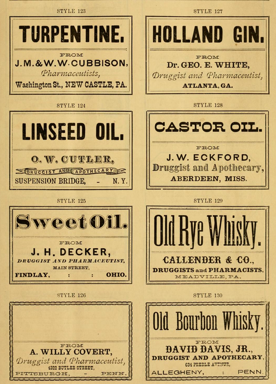druggist labels-8