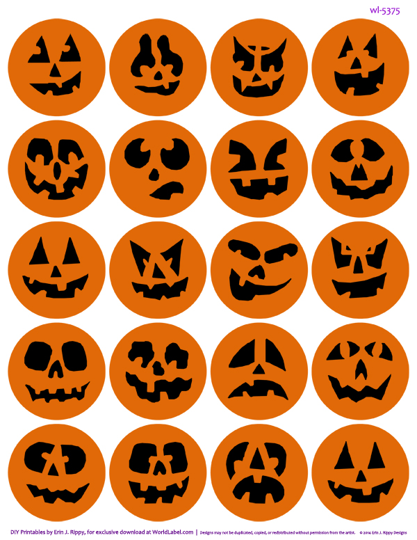 Ambitious image pertaining to halloween stickers printable