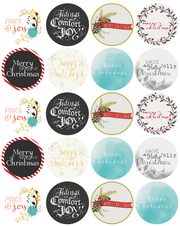 christmas label templates worldlabel blog. Black Bedroom Furniture Sets. Home Design Ideas