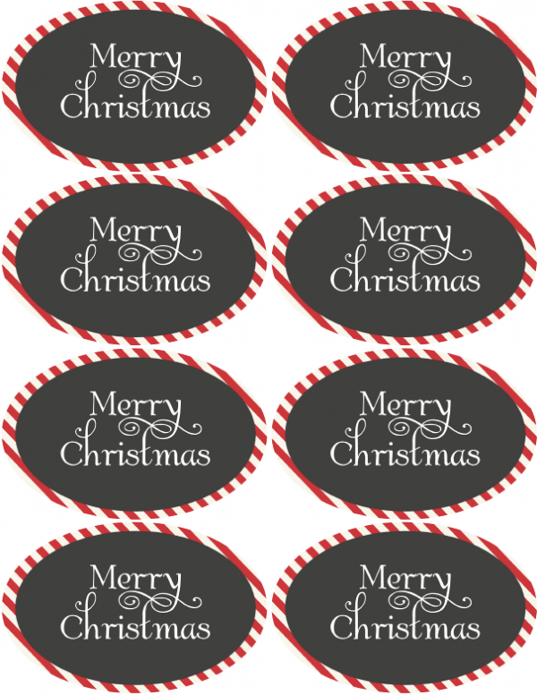 Handy image in merry christmas tags free printable