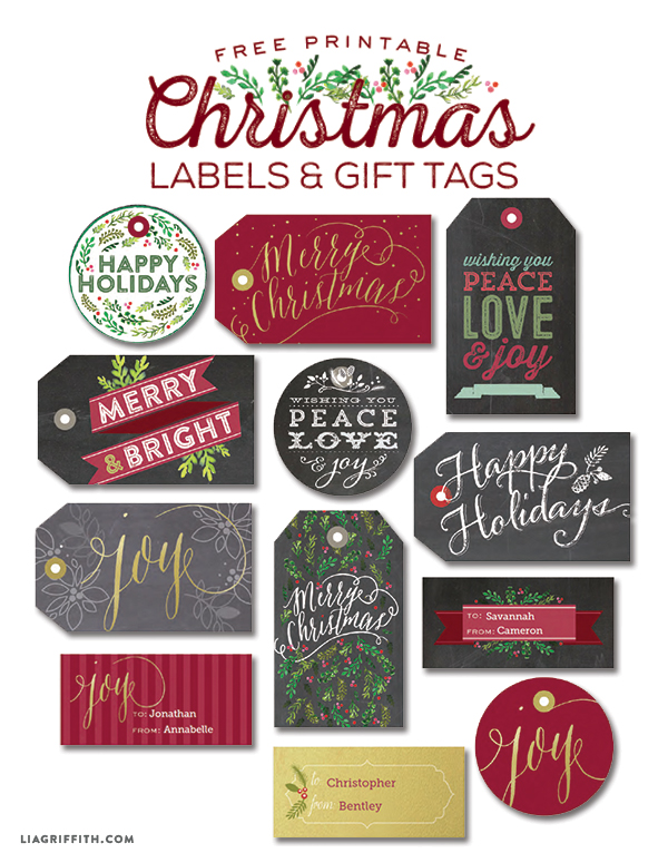 Printable Christmas Labels_Tags