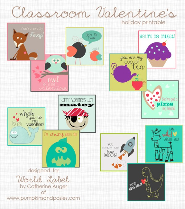 Classroom Valentine's Preview