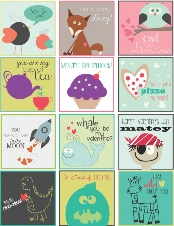 Transformative image regarding valentine labels printable