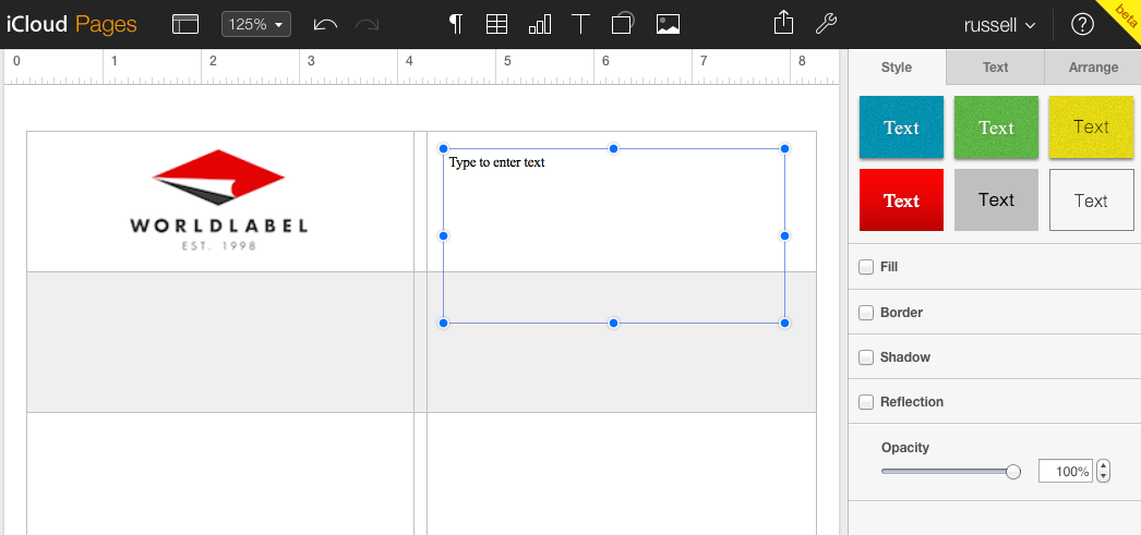 Label Templates for Pages for a Mac Released | Worldlabel Blog