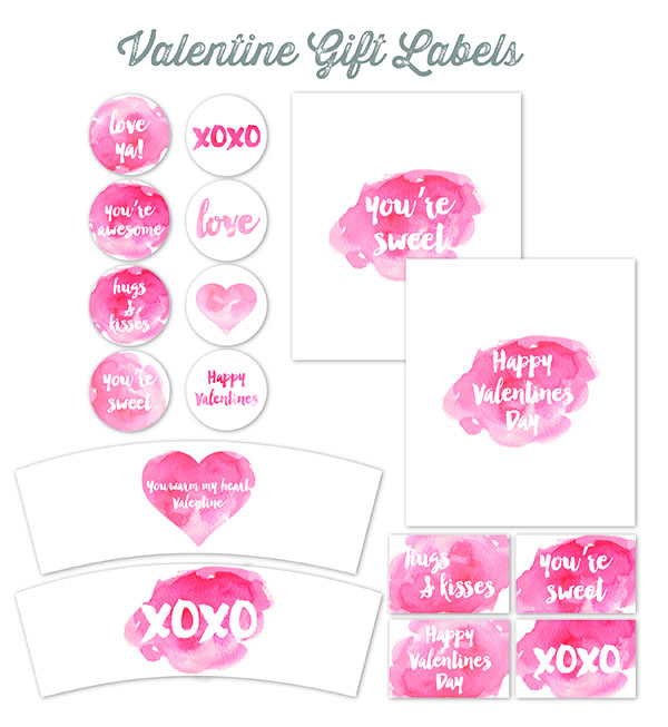 Valentine\'s Day Labels for Your Sweet Treats | Worldlabel Blog