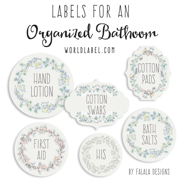 bath and body organizing labels worldlabel blog With bath and body labels templates