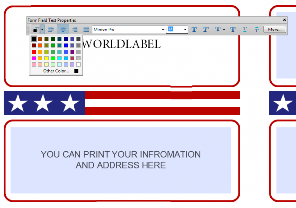 To And From Designed Shipping Label Templates – Shipping Label Templates