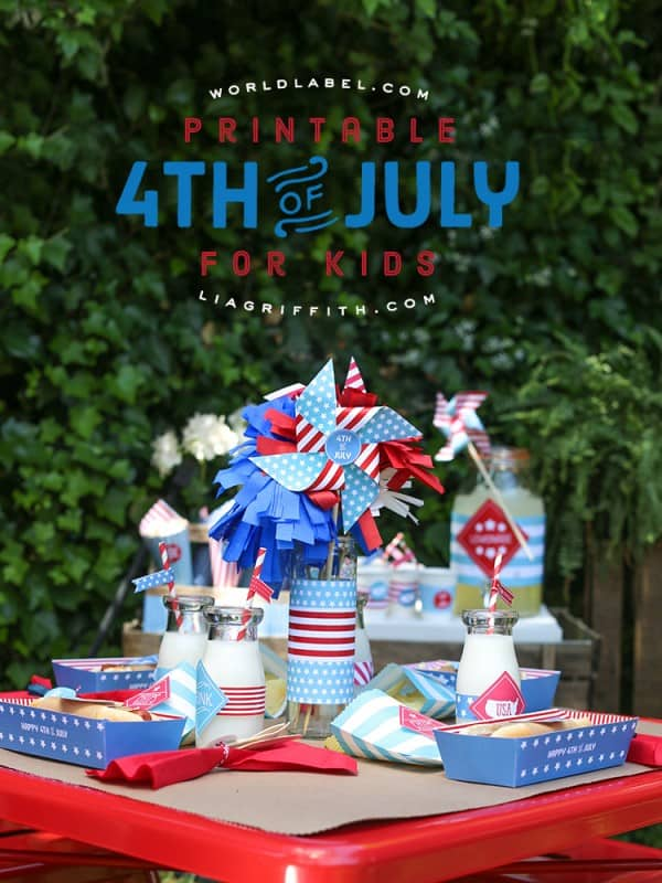 kids 4th of july printables