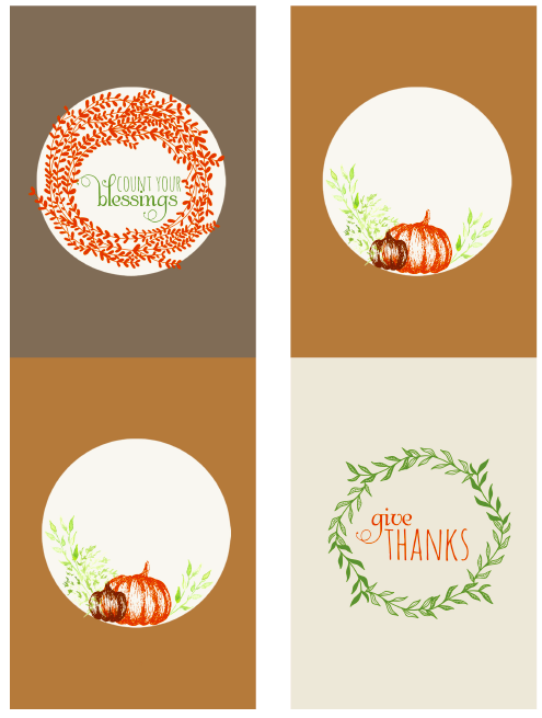wine bottle labels for thanksgiving