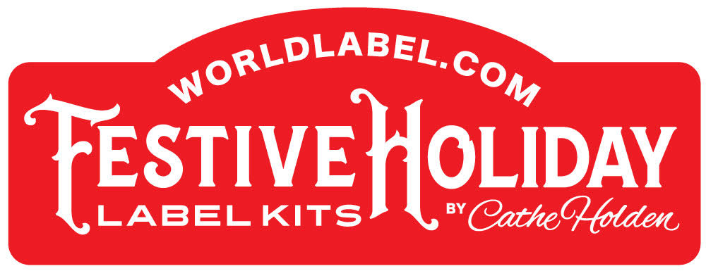 Free Festive Holiday Label Kits By Cathe Holden  Worldlabel Blog